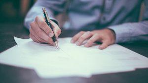 podpisanie umowy kredytu hipotecznego